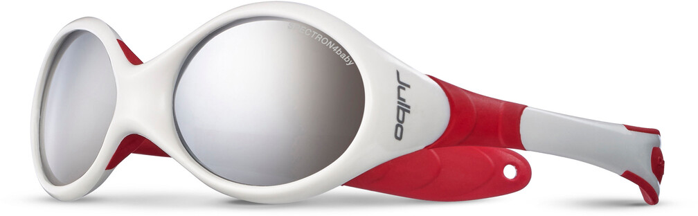 Julbo Looping I Spectron 4 Sunglasses Baby 0-18M White/Blue-Gray Flash Silver 2018 Sonnenbrillen Ru6Barf5